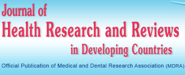Journal of Health Research and Reviews (in Developing Countries